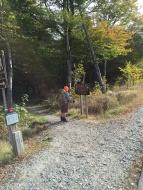 Tam at Trailhead