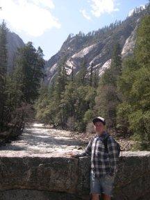 Tam in Yosemite