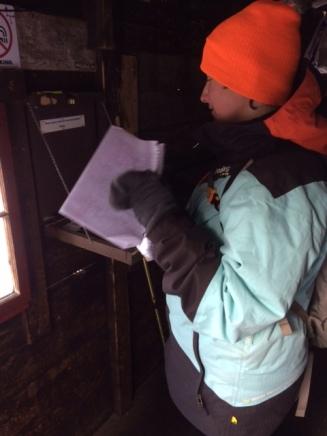 Reading Trail Log
